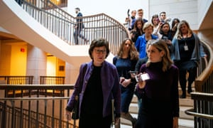Susan Collins at the US Capitol in Washington DC on 8 January 2020.
