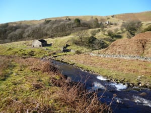 Leck Beck Easegill Leck Beck is Situated between Casterton Fell and Leck Fell. A finger of Lancashire steels a handful of the finest caves in England and one of the finest Gills. The Three counties cave system passes beneath Ease gill. Now in the Yorkshire Dales National Park