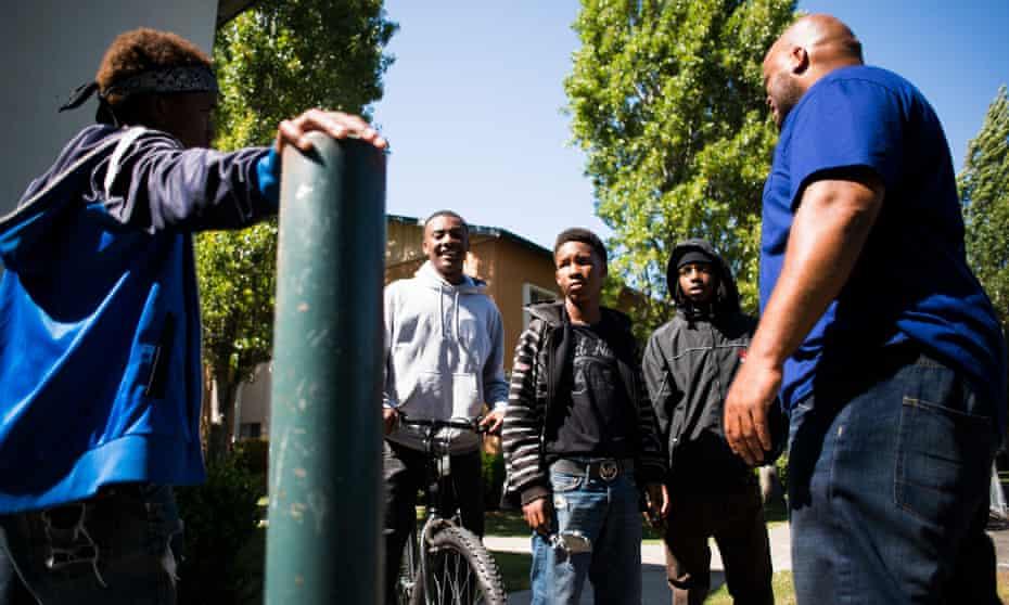 A Richmond neighbourhood mentor intervenes in a dispute