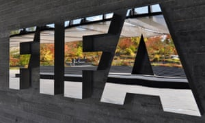 Fifa sign outside the headquarters