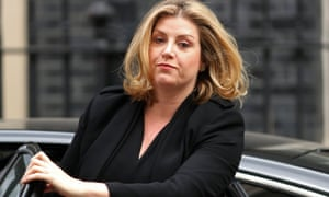 Britain's Secretary of State for International Development Penny Mordaunt