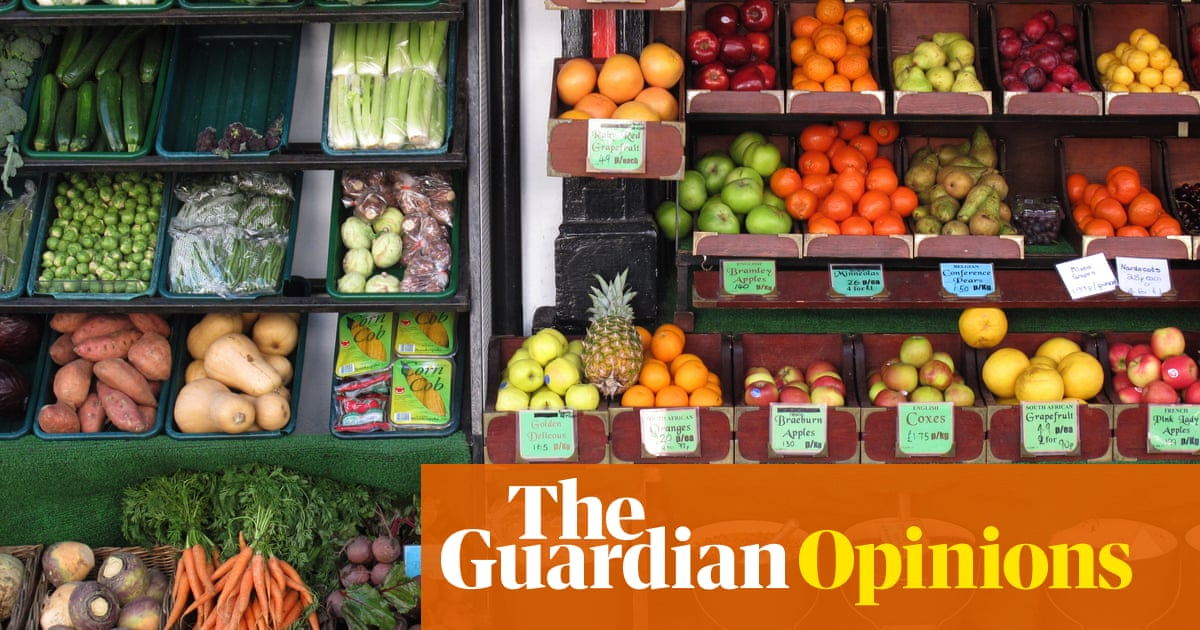 Fruit and veg come in their own natural wrapping  Why do we