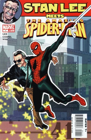 Stan Lee Meets the Amazing Spider-Man No. 1, November 2006. Back when Stan wrote Amazing Fantasy No. 15 and Fantastic Four No. 1, little could he have realized that these books would commit him to the field for life — and the images would become two of the most famous in all of popular culture. Tributes to the immense contribution of both men are legion, but few express it graphically like the array of homages those covers have inspired.