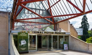 At the National Motor Museum, Leonard Manasseh envisaged a grand layout that would have been the envy of an 18th-century landowner.
