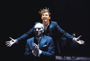 As Claudius with David Tennant (Hamlet) in Hamlet