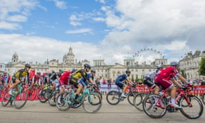 RideLondon weekend attracts 100,000 cyclists to capital's streets