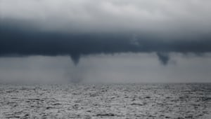Waterspout, Great Yarmouth, England, 27 August