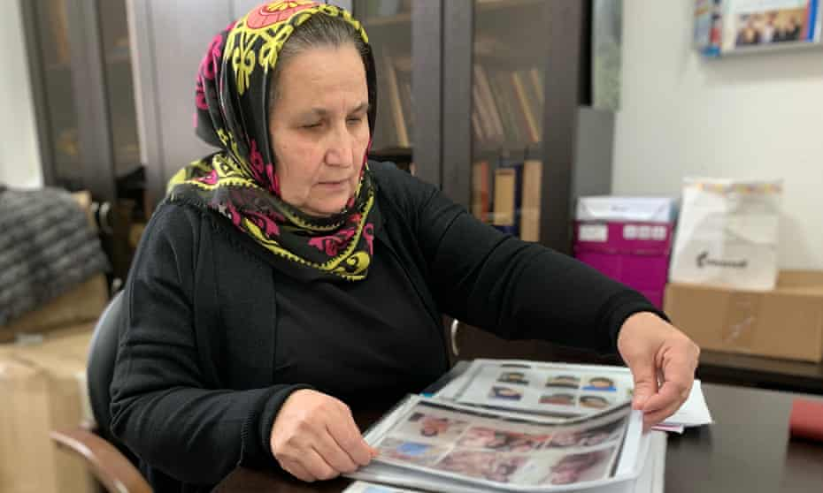 Dzhannet Erezhebova's daughter disappeared in Mosul in November 2016. She been searching for her ever since,