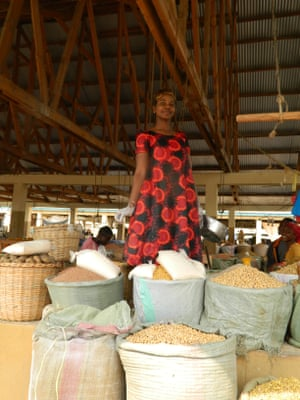 Bokhe Chacha, a market trader in Nansio, Ukerewe's main town.