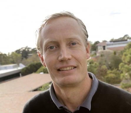 Tim DeVries, lead author of the study.