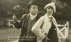 Bill (Arthur Tauchert) and Doreen (Lottie Lyell) in The Sentimental Bloke