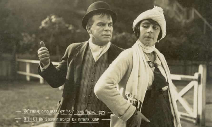 Bill (Arthur Tauchert) and Doreen (Lottie Lyell) in The Sentimental Bloke