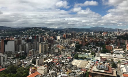 A view west across Caracas, which was once a buzzing metropolis