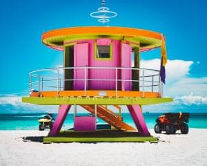 Miami Southbeach lifeguard station