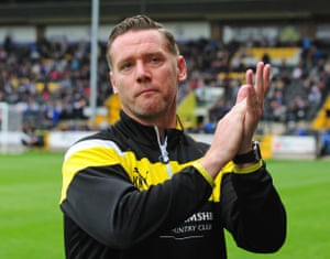 Kevin Nolan's Notts County went top of League Two with a 4-1 over Lincoln