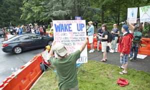 Protest against the annual Bilderberg Conference