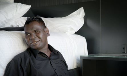 Indigenous Australian musician Gurrumul Yunupingu.