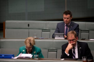 The seat assigned to now backbencher Tony Abbott remained empty during question time on Tuesday. Abbott wasn't seen for the remainder of the week.