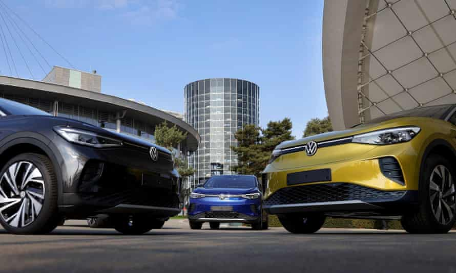 A statement posted to Volkswagen's US website on Tuesday said: 'We might be changing out our K for a T, but what we aren't changing is this brand's commitment to making best-in-class vehicles.'
