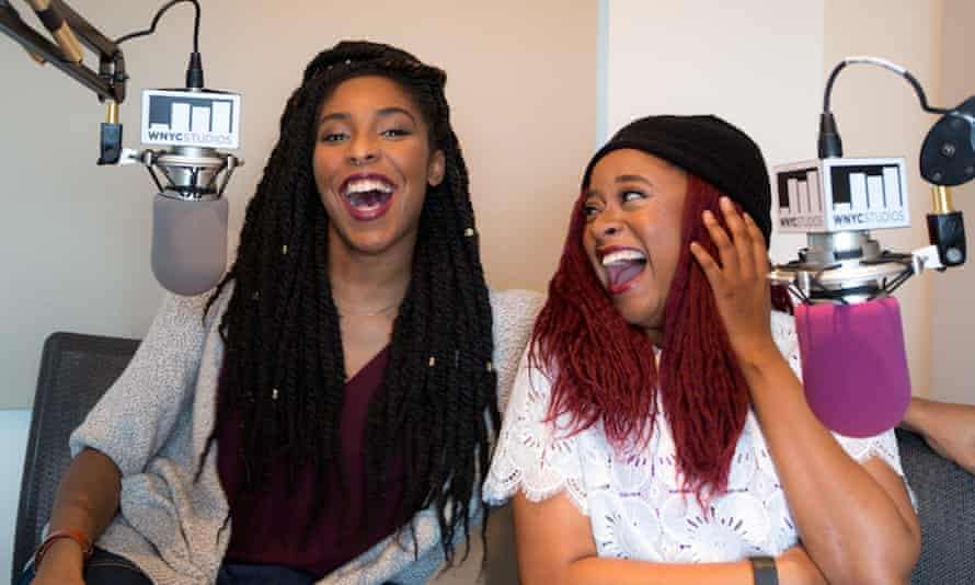 Jessica Williams and Phoebe Robinson of 2 Dope Queens
