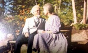 Alois Dvorzac and his wife, Dana.