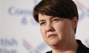 Ruth Davidson: 'If someone tapped on my door and asked me to help, I'd be there in a heartbeat.'