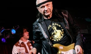Dick Dale performing in 2007.