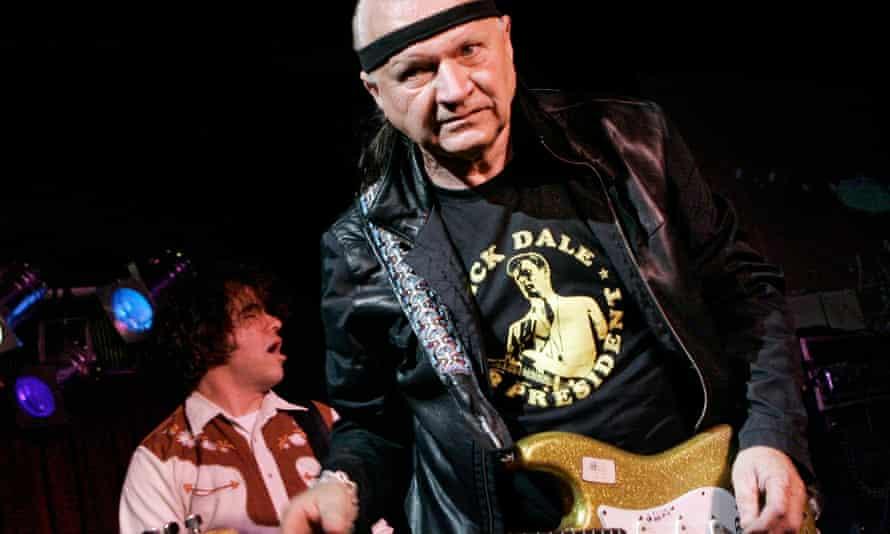Dick Dale performing in 2007.