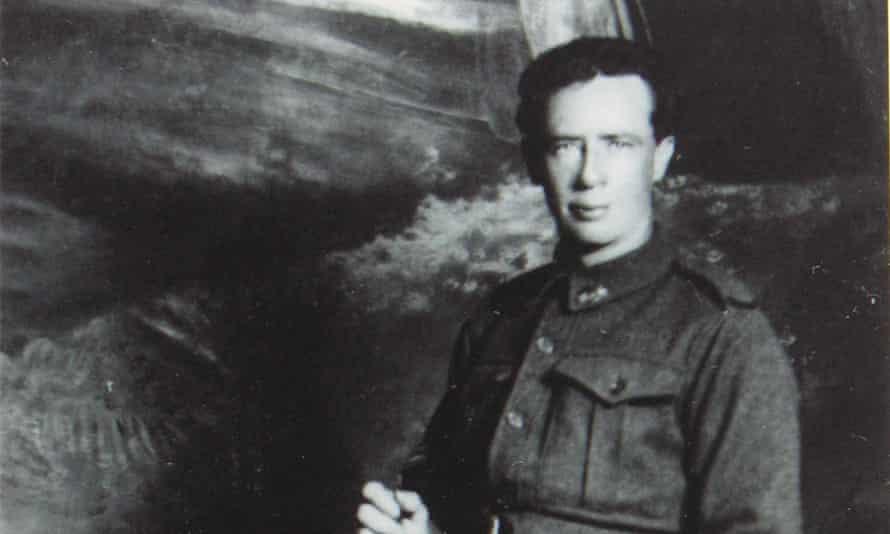 James Edward Ryan, probably taken in Egypt, early 1916.