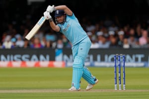 Jonny Bairstow drove at the boundary as England sought to recover
