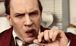 Fonzo ... Tom Hardy in Capone.