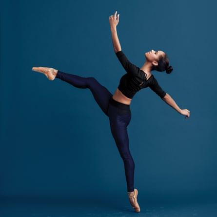 Misty Copeland teaches ballet dancing for MasterClass.