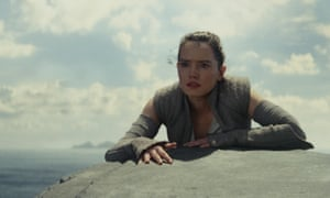 Rey (Daisy Ridley) in Star Wars: The Last Jedi