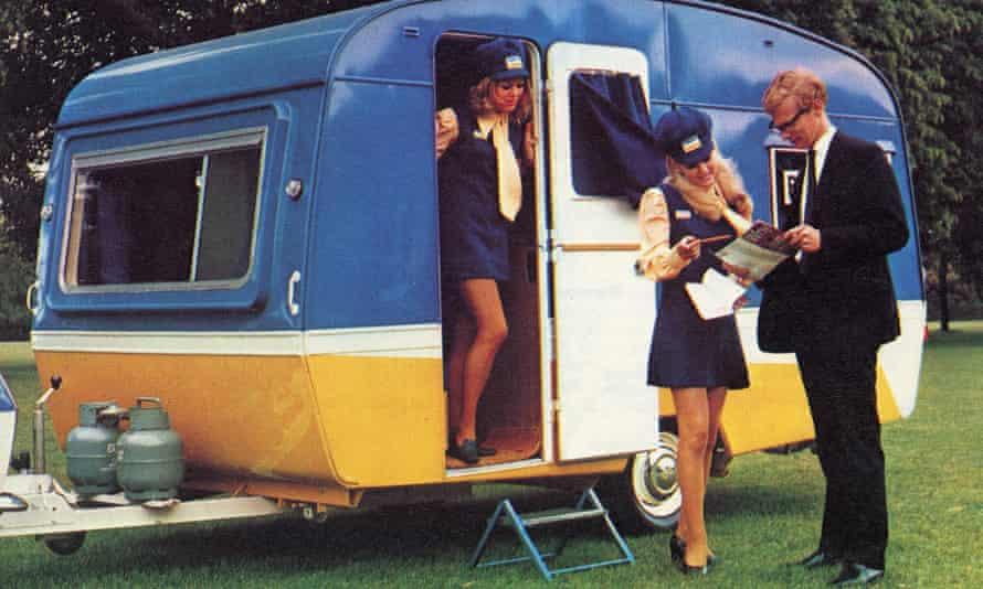 Barclaycard caravan.