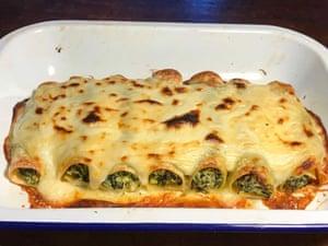 Felicity Cloake's Perfect spinach ricotta cannelloni Felicity Cloake pics Pasta Sapori d'Italia