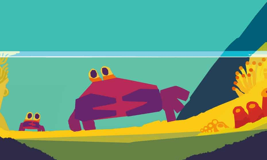 Don't Worry, Little Crab by Chris Haughton.