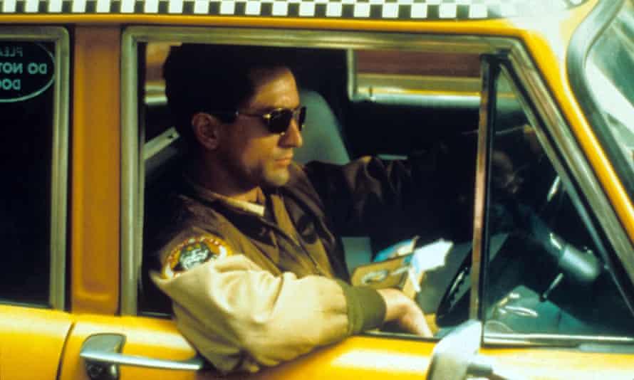 Robert De Niro in Taxi Driver.