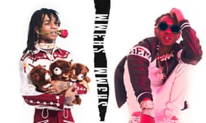 Rae Sremmurd on the SR3MM album cover.