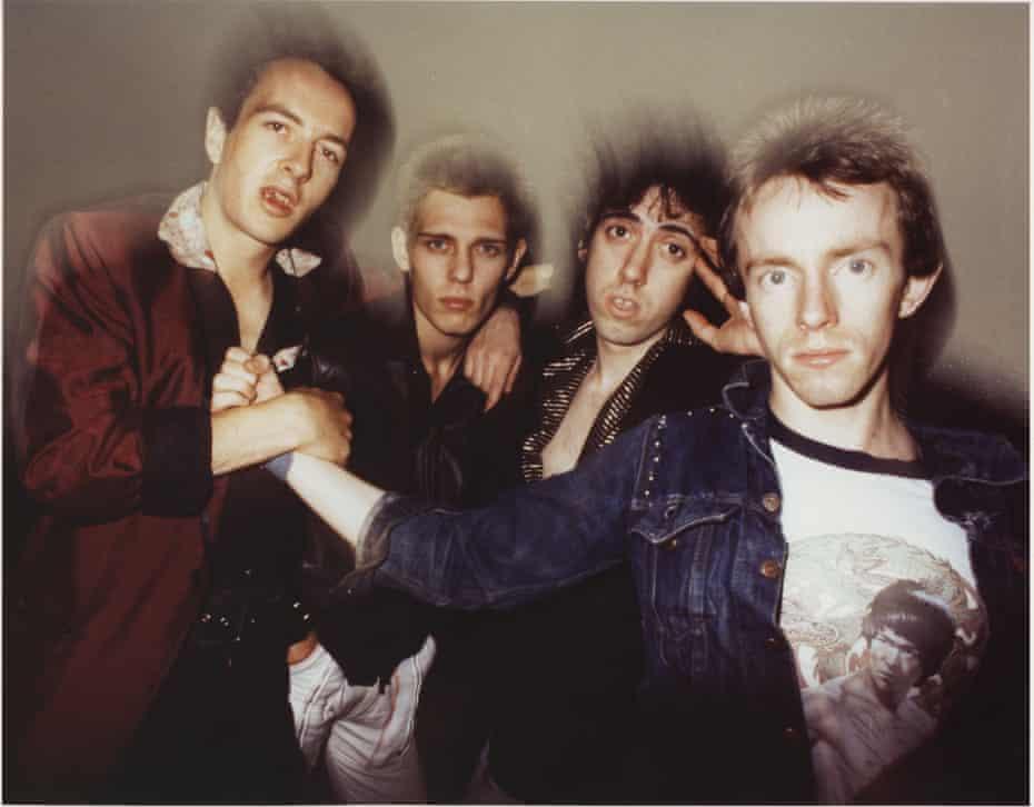 In New York, September 1978 ... (from left) Strummer, Simonon, Jones, Headon.