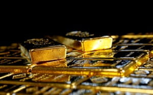 Gold prices are at levels not seen since early November.