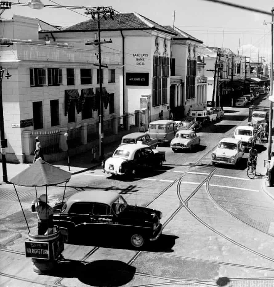 Kingston, Jamaica, in the 1950s.