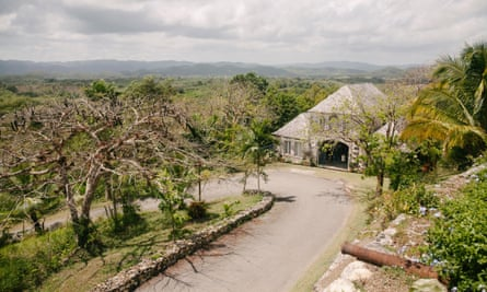 The Good Hope Plantation House, once one of Jamaica's largest slave-holding estates.