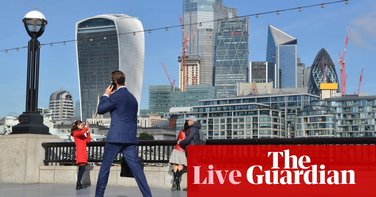 Industry supply chain fears deepen; UK borrowing undershoots forecasts – business live