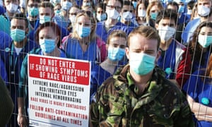 Free tickets to the Secret Cinema screening of 28 Days Later were given to hundreds of junior doctors and NHS staff.