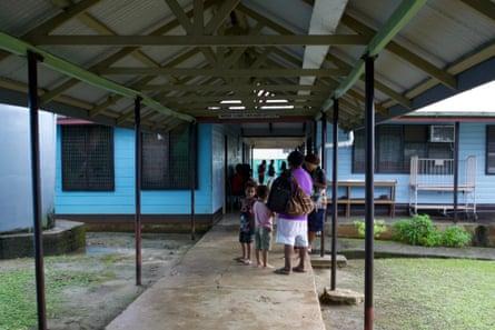 The Lorengau hospital.