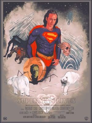 Superman Lives - Tim Burton