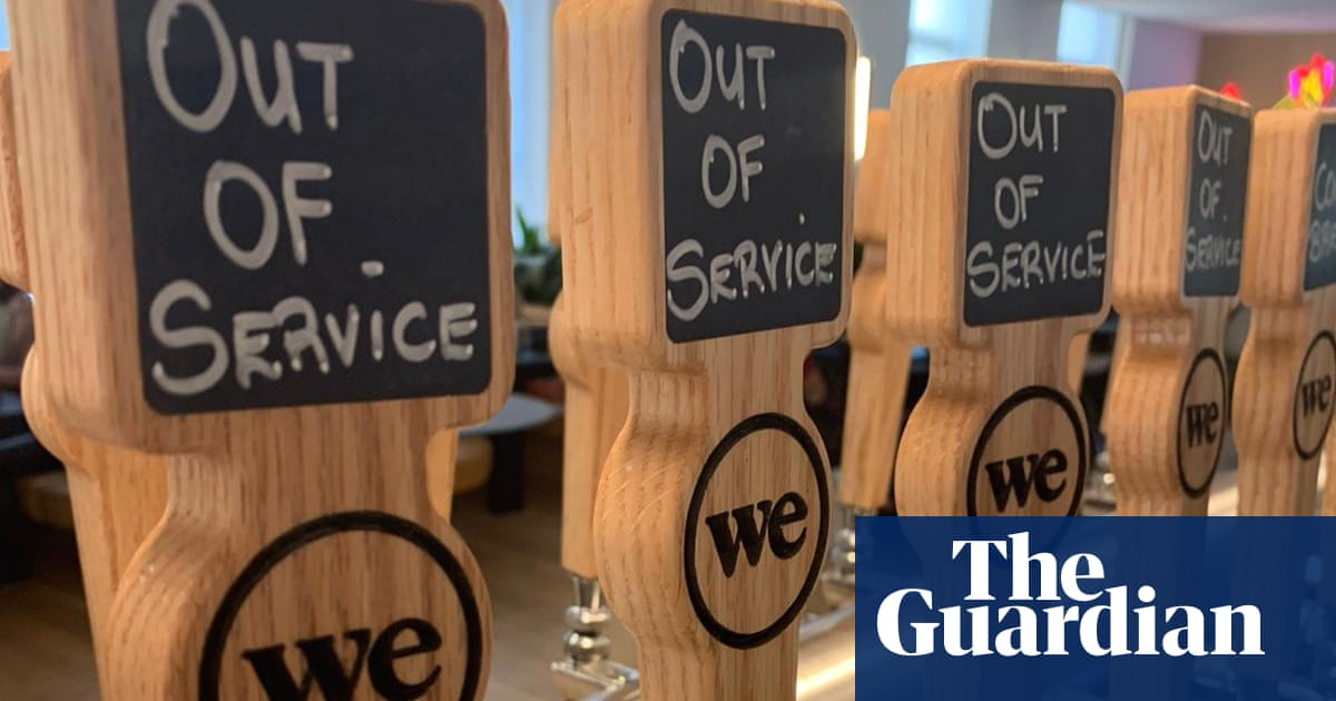 WeWork calls time on free beer and wine at North American sites