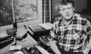 Burgess in the study of his house, Applegarth, where the author wrote many of his most important works.