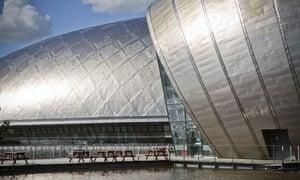 Glasgow Science Centre.