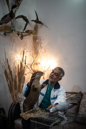 Portrait of Ahmed Saleh, environmental activist